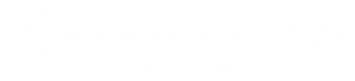 Groveland Estate (Private Lake) Logo - White on Transparent